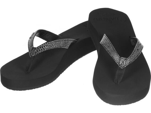 Reef Star Cushion Sassy Flips Women black/silver